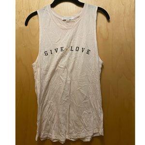 Give Love Spiritual Gangster Tank